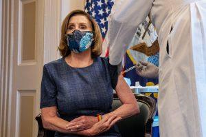 Pelosi and McConnell receive Pfizer Covid vaccine