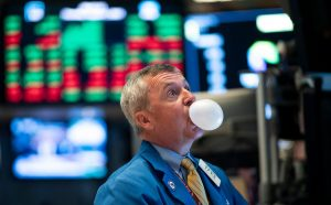The wealthy are investing like market bubble is here, or at least near