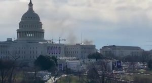 Biden Inaugural Rehearsal Evacuated Over Fire Blocks from Capitol