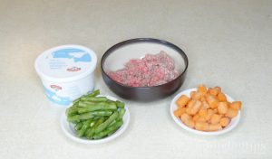 Meal for diabetic dogs