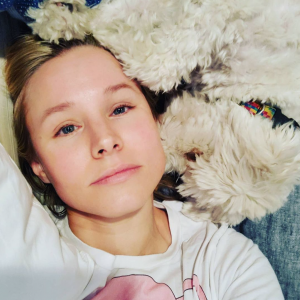 "Actress/Rescue Advocate Kristen Bell Calls Dogs ""Nature's Antidepressants"""