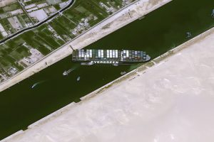 Ship blocking Suez Canal is beginning to affect the global economy