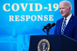 Biden says states should reinstate mask mandates and wait to reopen businesses as Covid cases rise