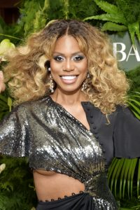 WEST HOLLYWOOD, CALIFORNIA - OCTOBER 29: Laverne Cox attends Prabal Gurung Celebrates 10 Years & Book Launch at Sunset Tower Hotel on October 29, 2019 in West Hollywood, California.  (Photo by Stefanie Keenan / Getty Images for Prabal Gurung)