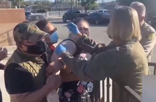 horror-california-officials-force-crying-mentally-handicapped-people-to-get-covid-vaccinations-video