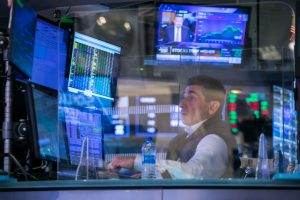 Stock futures are mixed as investors await Federal Reserve update