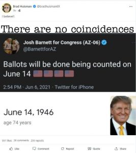REPORT: Ballots Will be Fully Counted in Arizona on June 14th