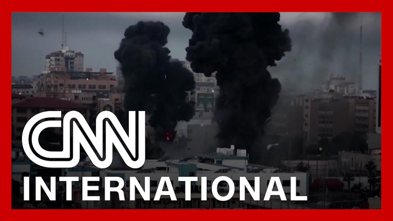 videos-show-israeli-airstrikes-on-gaza