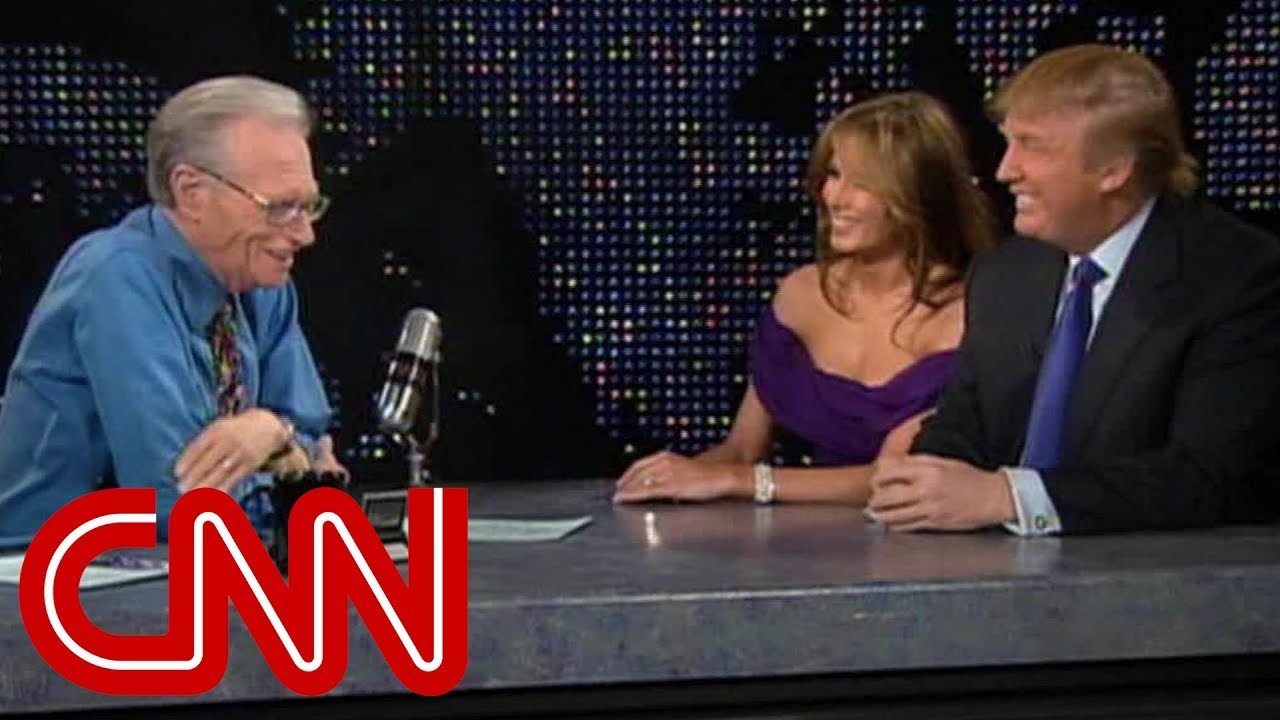 donald-and-melania-trump-as-newlyweds-2005-cnn-larry-king-live-full-interview