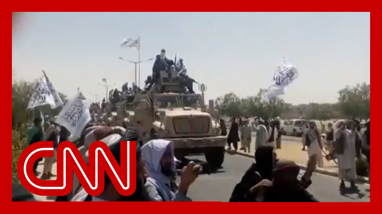 video-shows-taliban-victory-parades-with-military-vehicles-captured-from-afghan-army